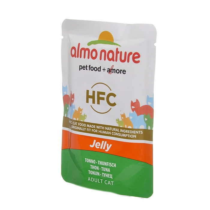 Almo Nature паучи тунец в желе для кошек, Classic Nature Jelly - Tuna
